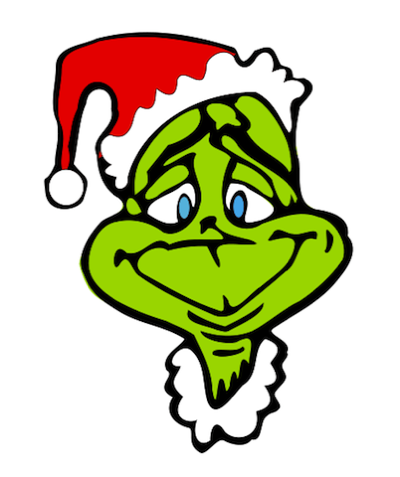 Christmas Party Images Clip Art.Grinch Wreath Free Christmas Clip Art From The Public