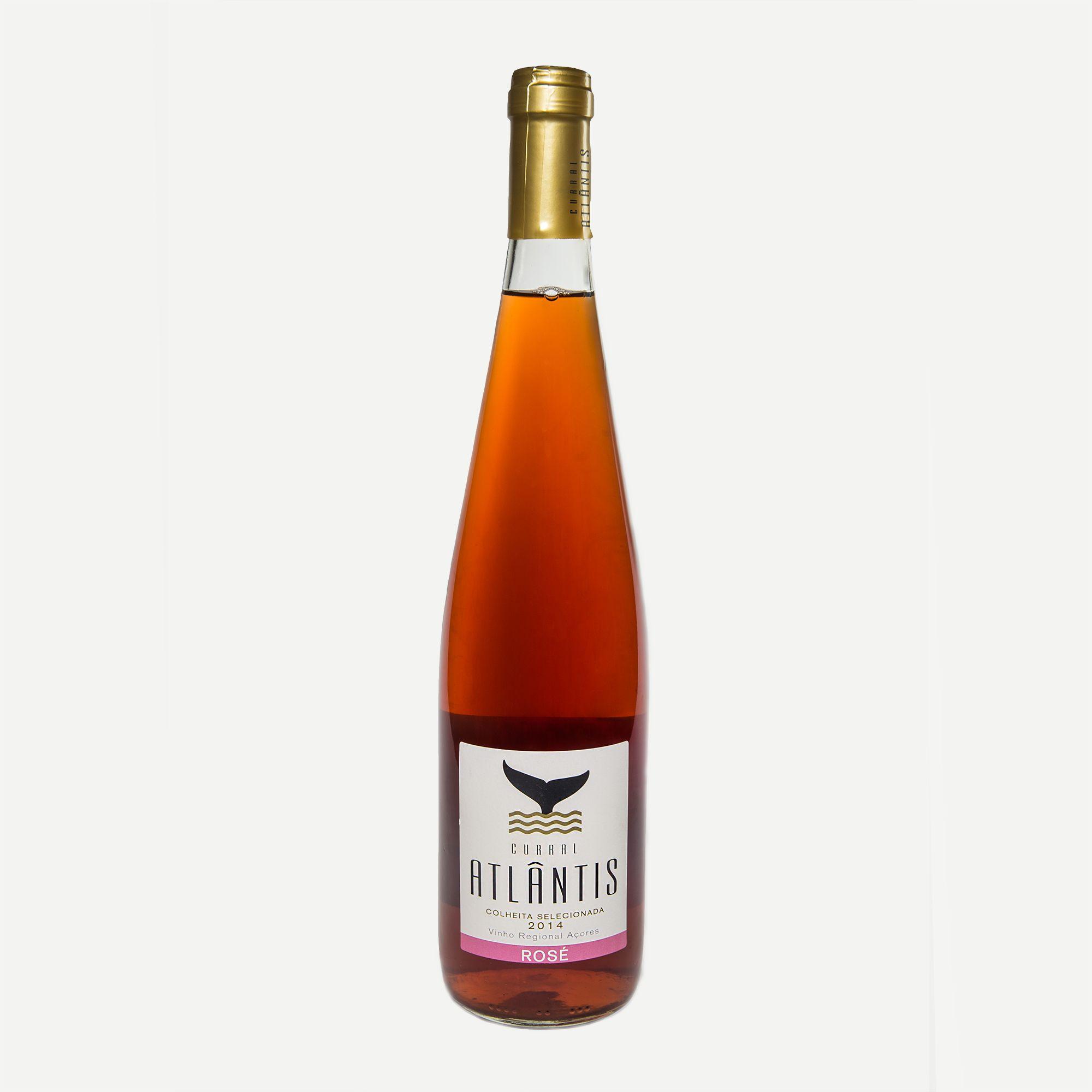 Curral Atlantis Rose Vinho Rose De Colheita Seleccionada Cultivado Em Curraletas Na Ilha Do Pico Este E Um Vinho Rose Que Revela Muita Vino Rosado Vinos