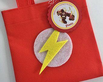 Juego de 12 bolsas de favor con las etiquetas - Bolsas para flash ...