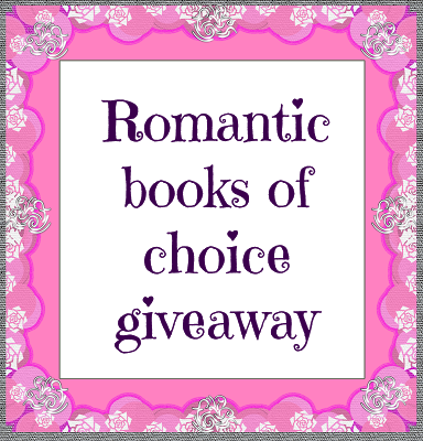 With Love for Books: Romantic Books of Choice Giveaway