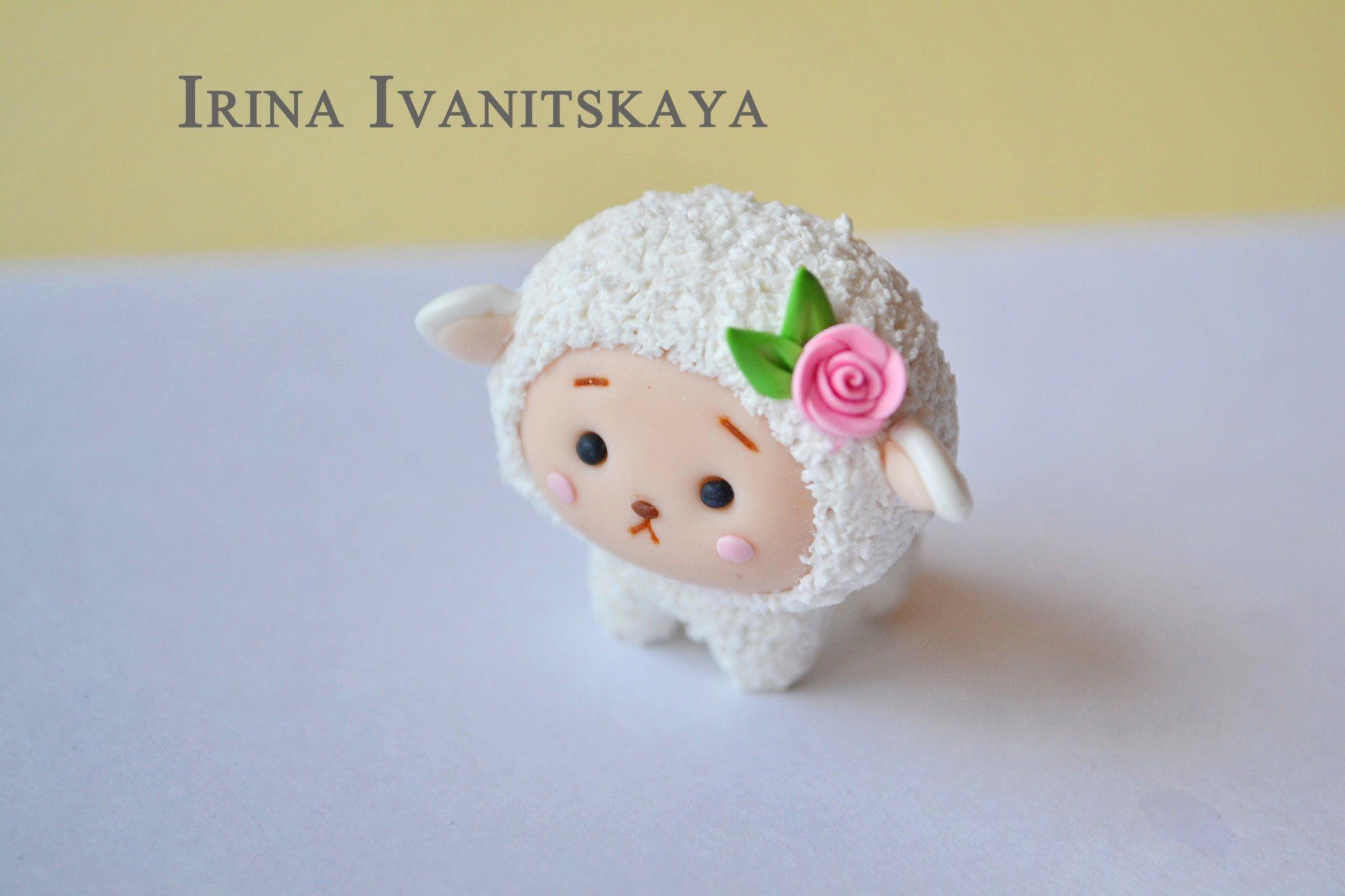 Cute White sheep  tutorial
