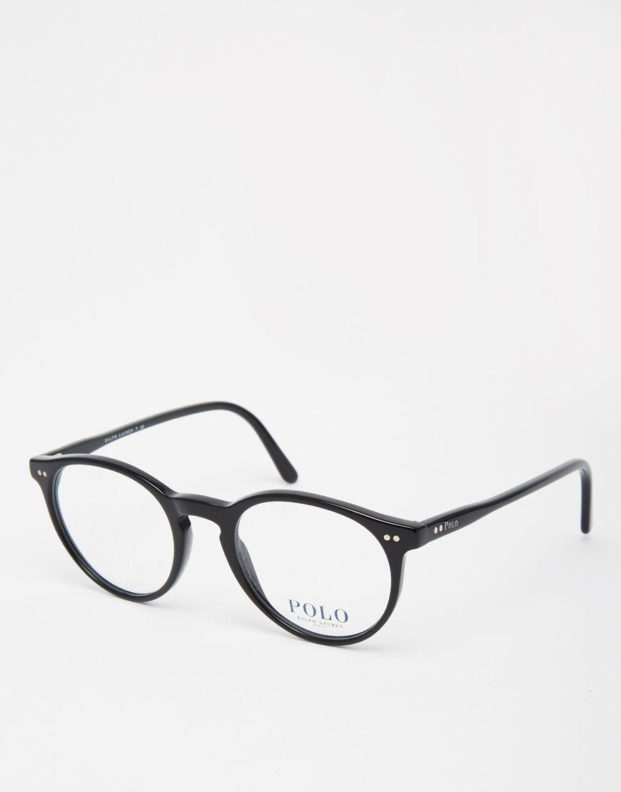 Image 1 of Polo Ralph Lauren Round Glasses   wishlist   Pinterest ...