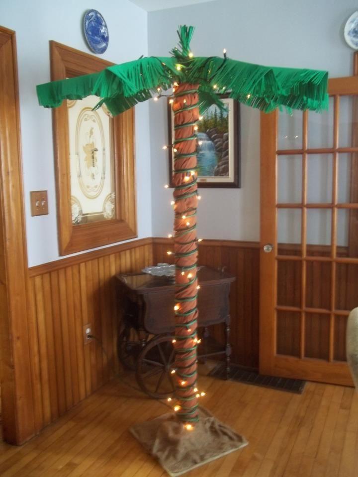 My Homemade Palm Tree Teen Beach Movie Birthday Party
