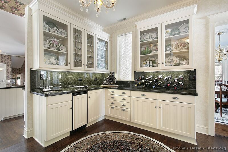 Traditional White Kitchen Cabinets #03 Kitchendesignideas Beauteous Traditional White Kitchen Cabinets Decorating Design