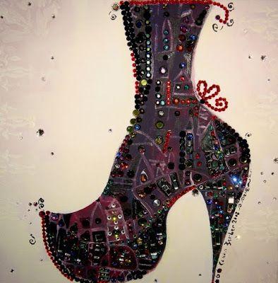 ♥ Boot purple
