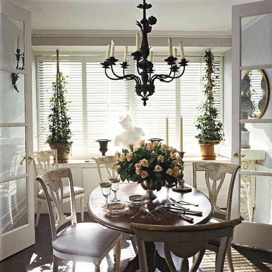 30 Elegant Traditional Dining Design Ideas Dwelling Decor: Charles Spada Interiors