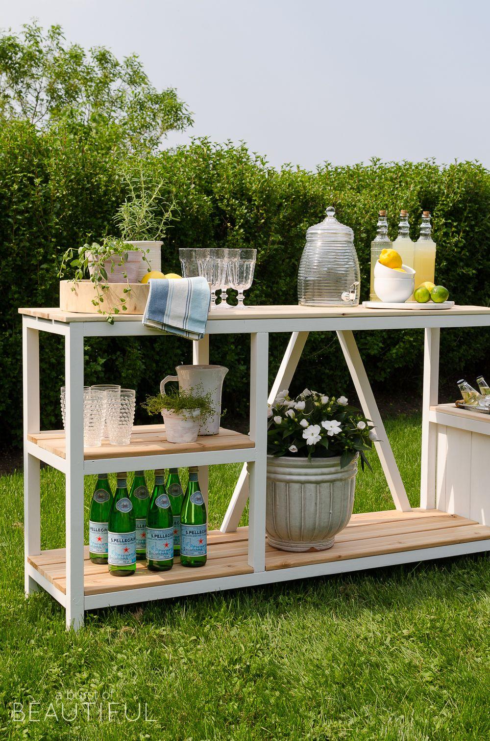 Summer Entertaining + Outdoor Bar   Außenbereich, Hausbau und Gärten