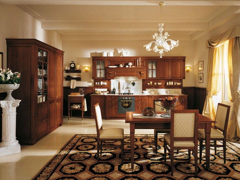 klassische Küchen von Mortini Mobili geräumig | Wohnideen Küche ...