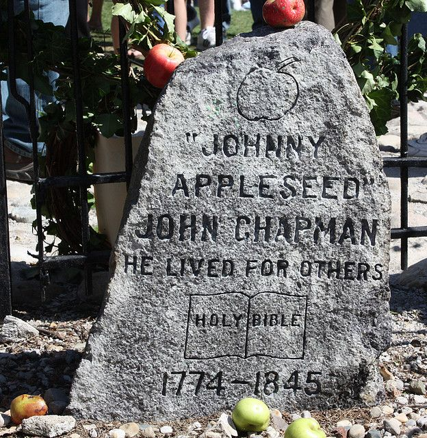 Johnny Appleseed Marker Fort Wayne Indiana Apple Seeds Fort Wayne