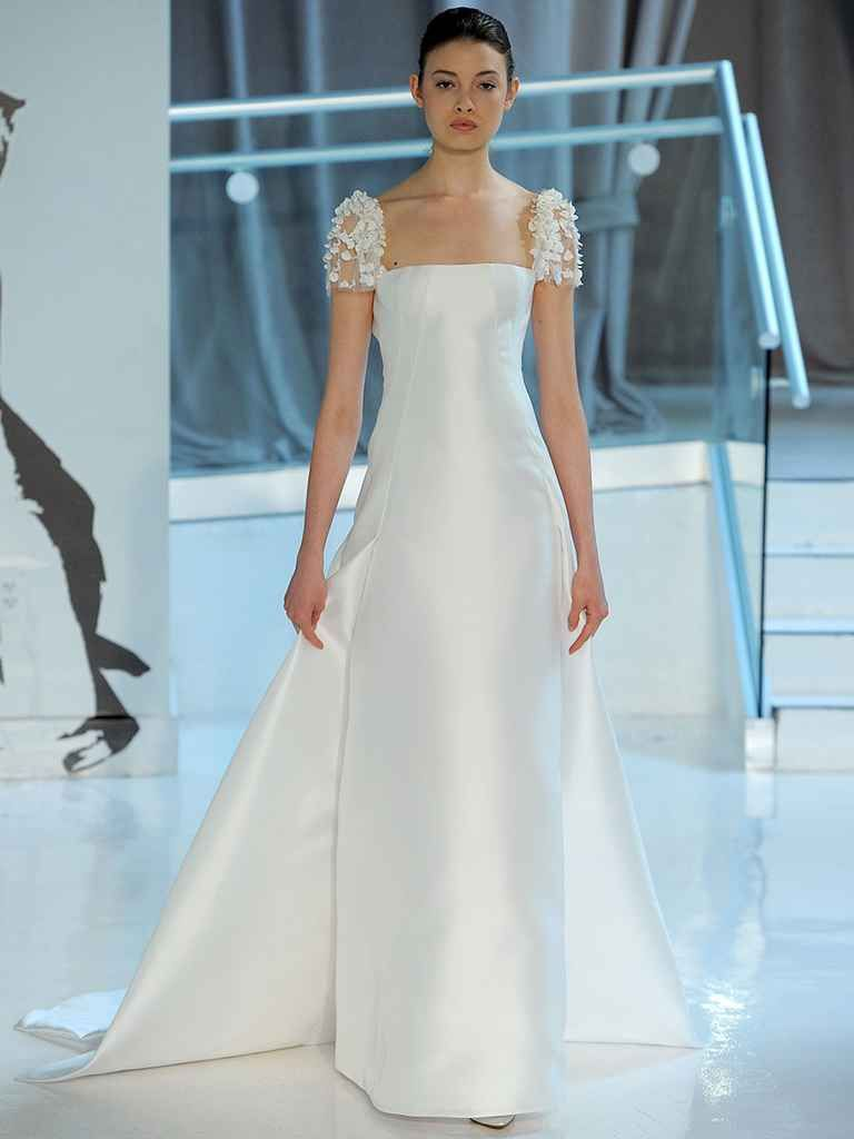 Peter Langner Spring 2018: Edgy and Elegant Wedding Dresses ...