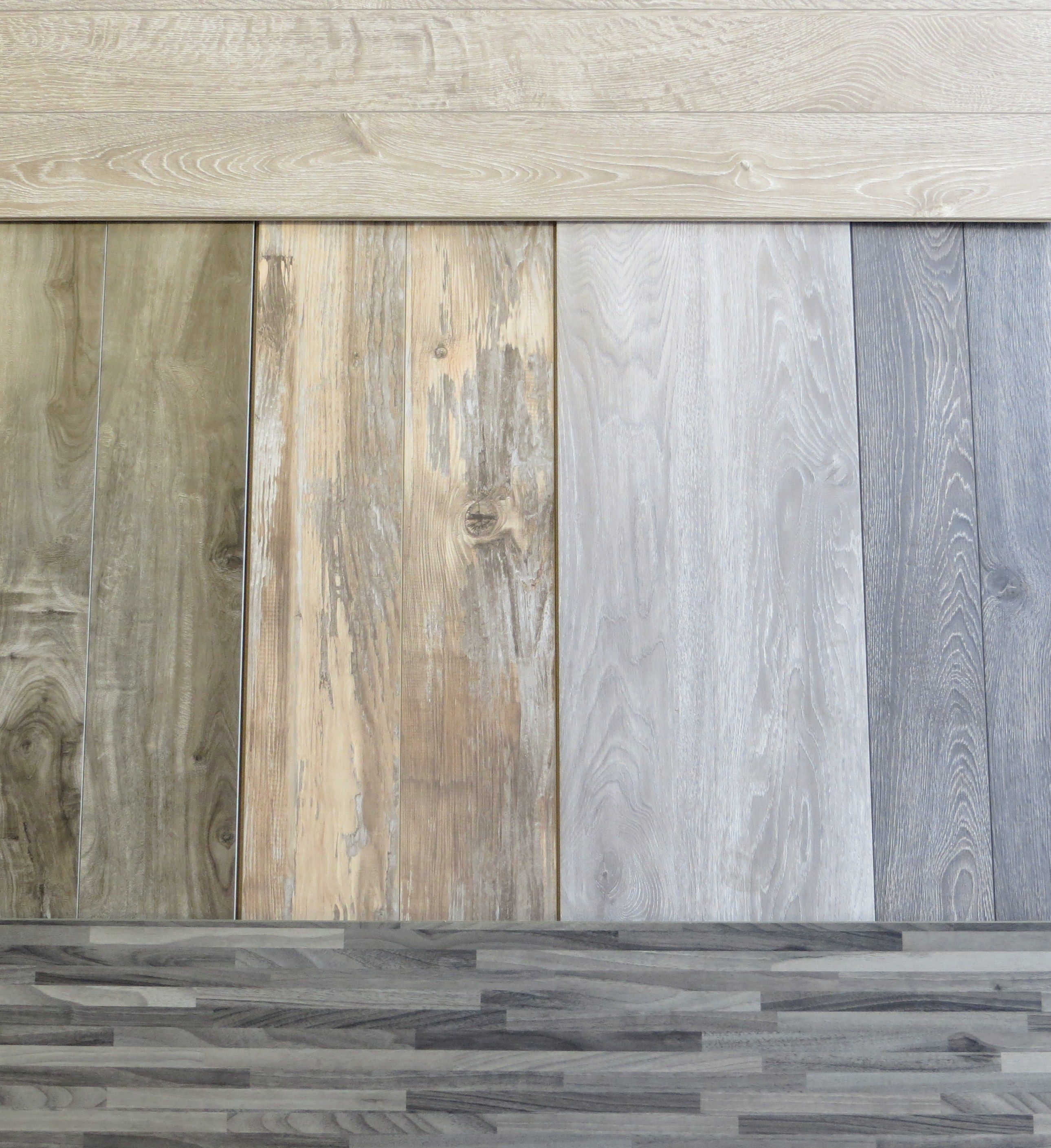 Cool grey and white washed laminate by simplefloors White washed wood flooring
