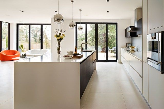 Spacious Contemporary Kitchen Part 42