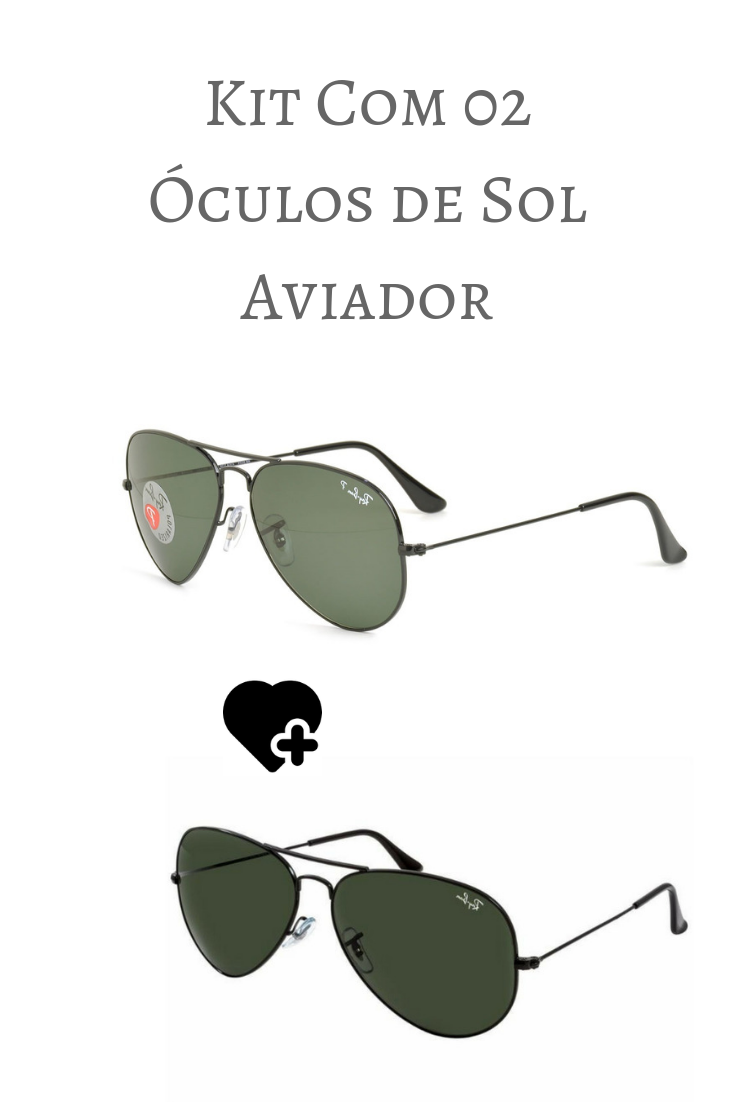 398447d607 Ray-Ban Aviator Large Metal RB3026 - Preto - L2821/62 em 2019   Óculos   Ray  bans, Sunglasses e Mirrored sunglasses