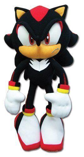 "Shadow Sonic The Hedgehog Tomy 12"" Stuffed Plush"