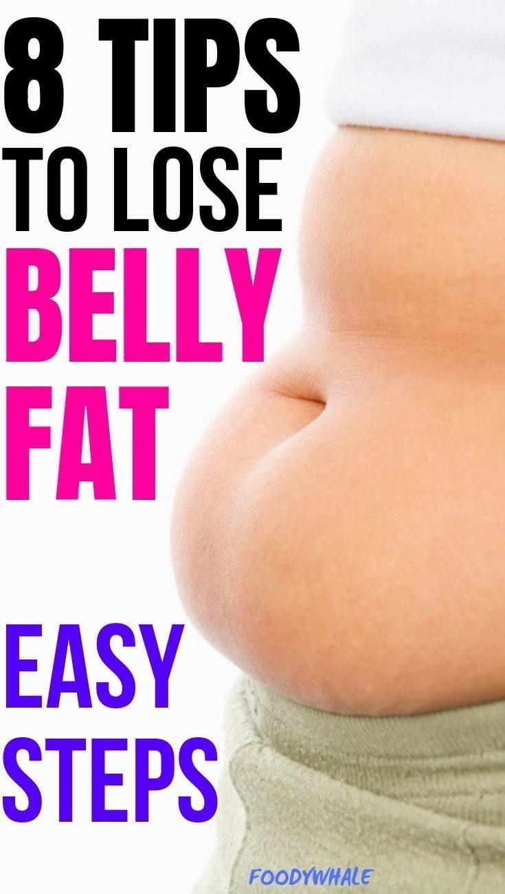 8 tips to lose belly fat. Best diet to lose belly fat in a week and do an overnight detox drink. Bes...