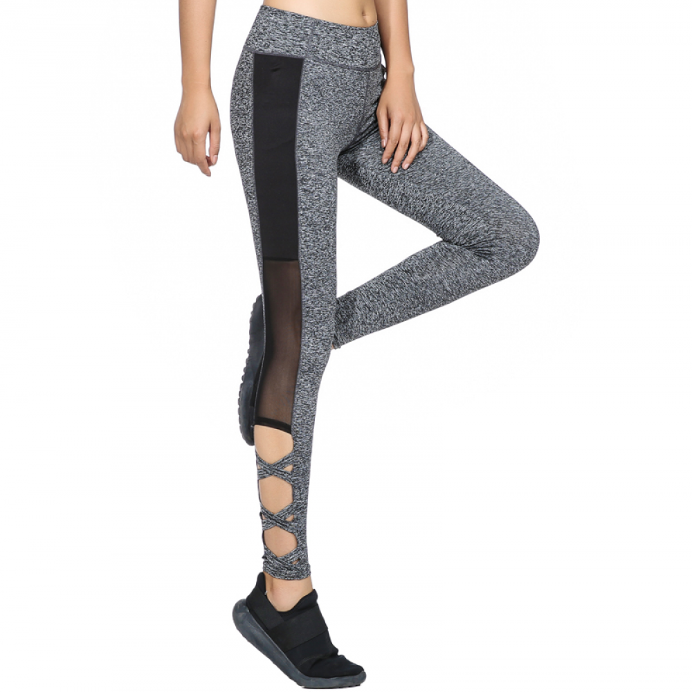 667e3b7ed1f77f Mesh Sexy Grey Leggins Price: 24.00 USD & FREE Shipping #activewear  #gymstyle #fashion #yogapants