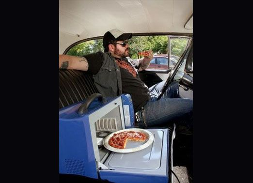 Wavebox Portable Microwave Oven 250 The Photo Is Hilarious