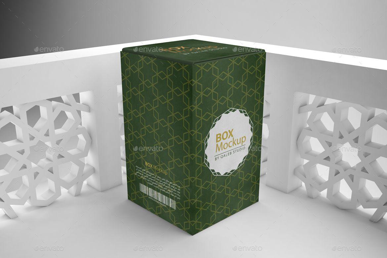 Download Arabic Rectangle Box Mockup Box Mockup Mockup Mockup Templates