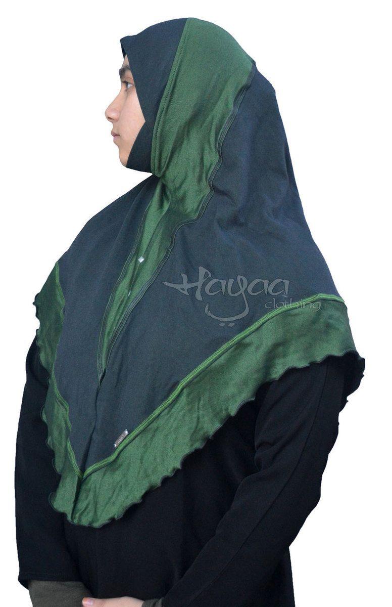 Khimar Hijab Lamis Hijab Jilbab f/ür Damen