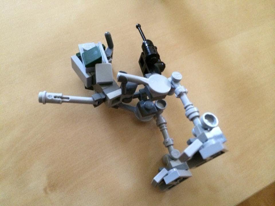 Lego Star Wars Custom AT-RT Building Tutorial Instructions | lego ...