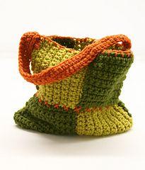 Ravelry: Patchwork Bag #80992AD pattern by Lion Brand Yarn