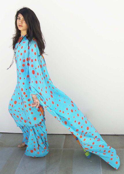 Pennies From Heaven Flat Chiffon Saree 100% Silk
