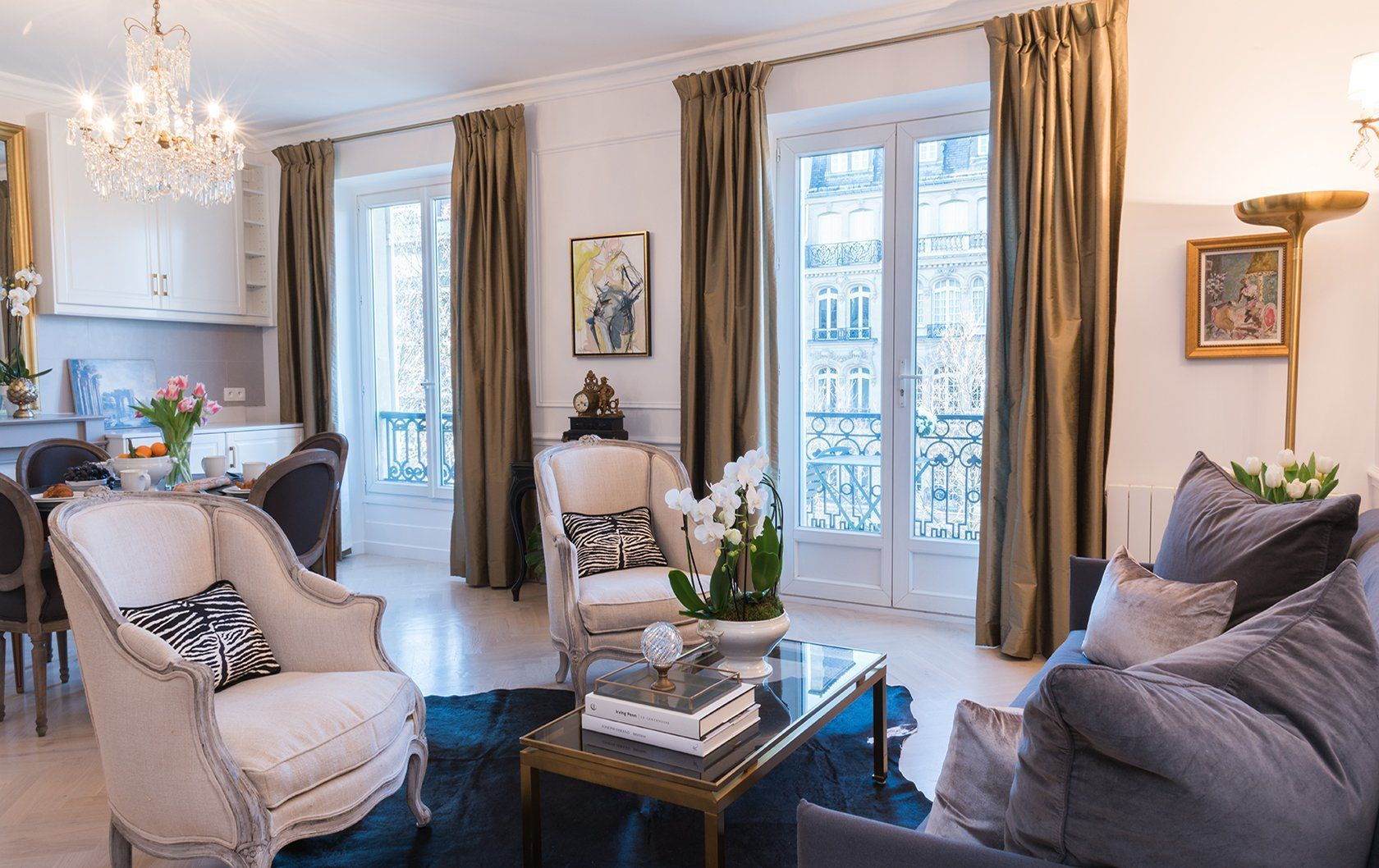 Before after at the fabulous new cairanne apartment paris apartment interiors paris apartments
