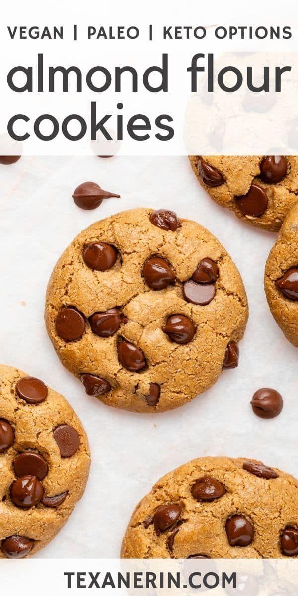 Almond Flour Chocolate Chip Cookies - Texanerin Baking