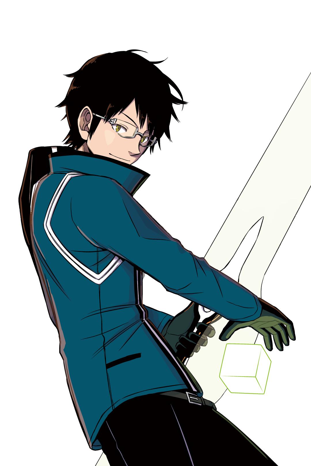 Osamu Mikumo Anime World Trigger Birthday May 25
