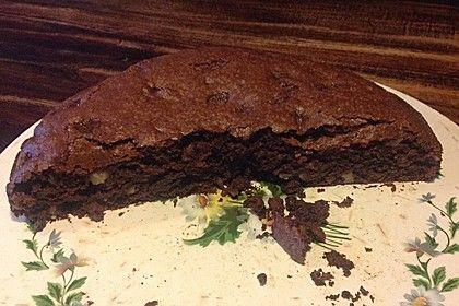 Veganer Schoko Walnuss Kuchen Mit Birne Und Dinkelmehl Rezepte
