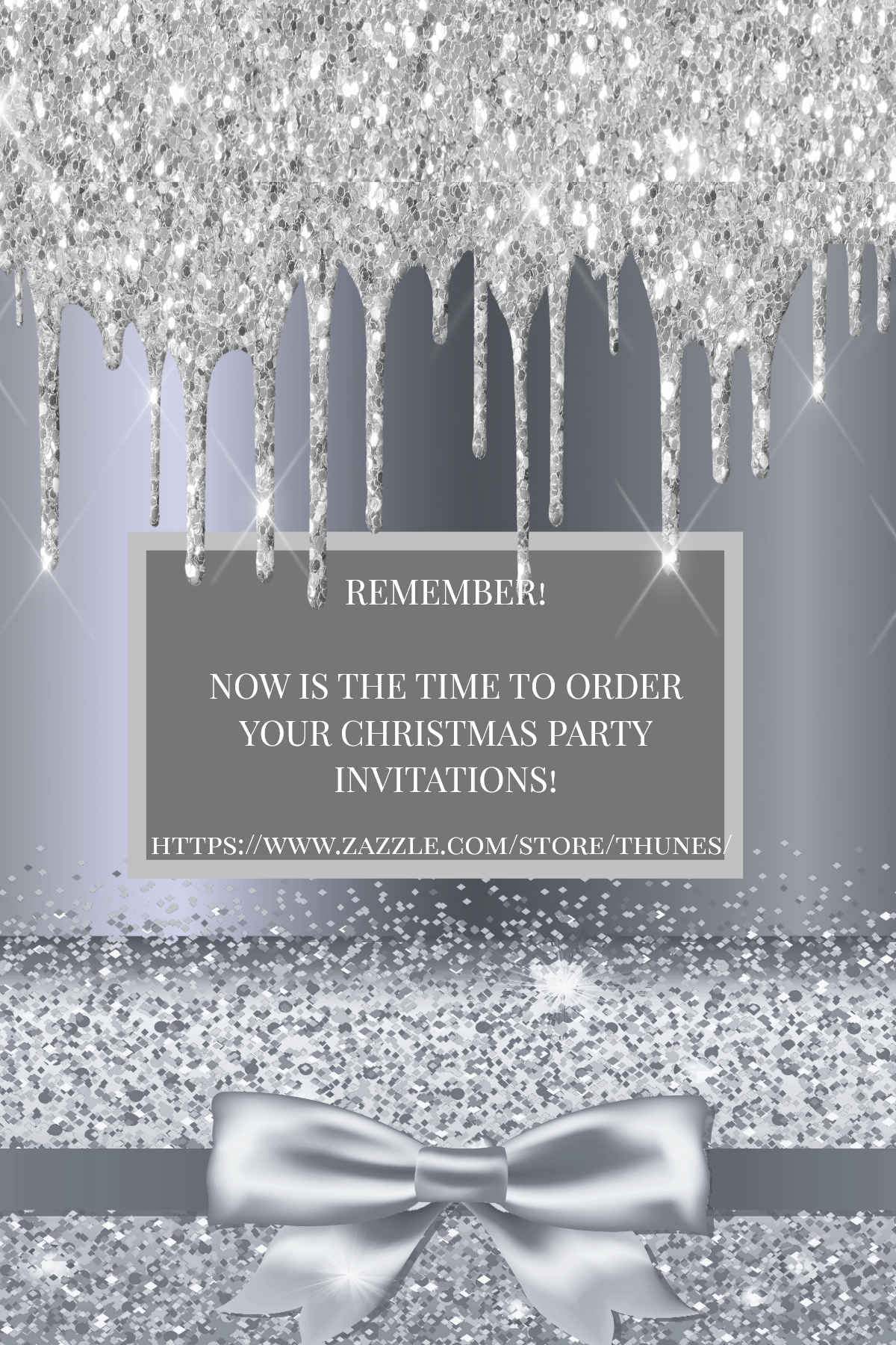 Pin By Thunes Designs Birthdays Wed On Easter Christmas Party Christmas Party Invitations Glass Christmas Ornaments