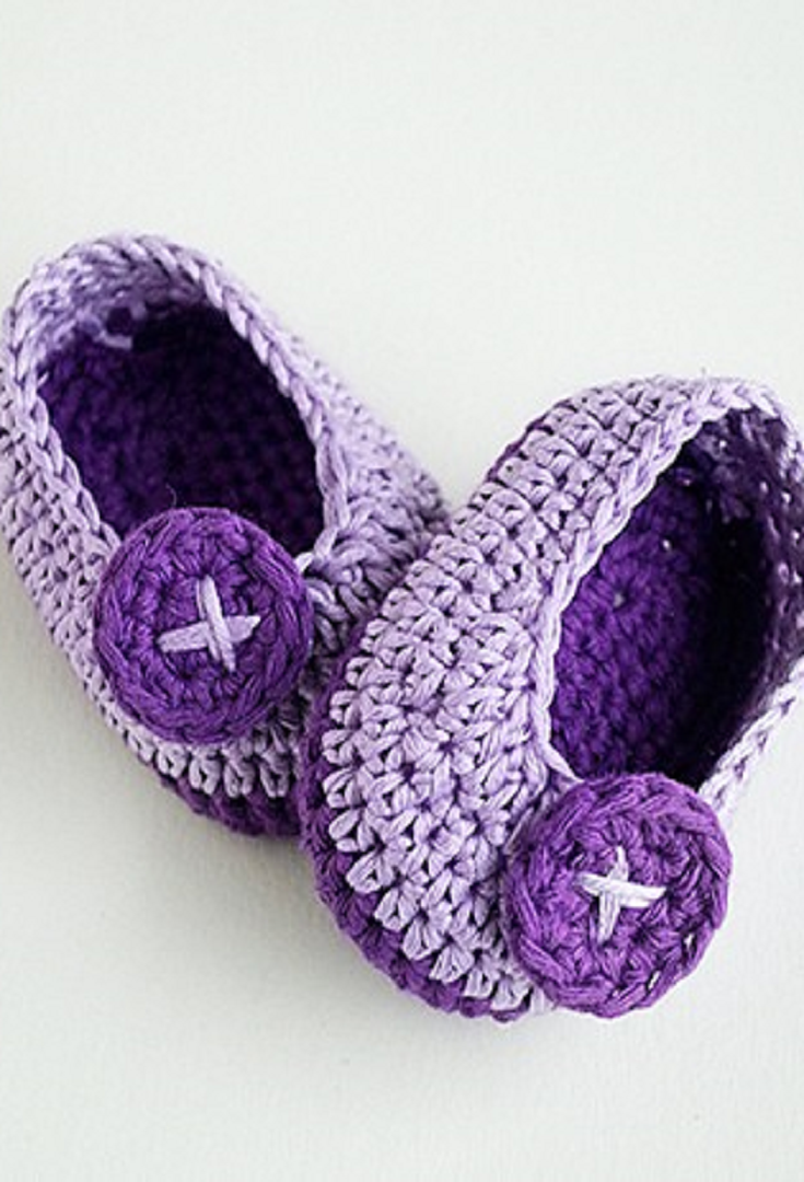 Free Pattern] These Adorable Crochet Baby Booties Are Perfect For ...