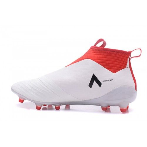 adidas ace 16+ purecontrol bianca red
