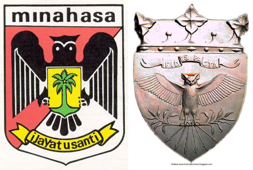 Minahasa Regency Logo Dutch East Indies Desain Logo Desain