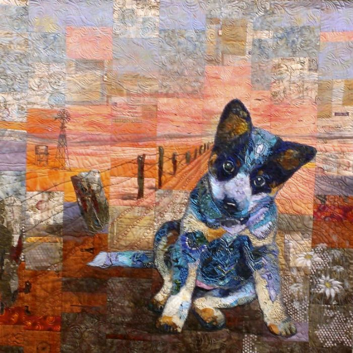 Beginning True by Sue de Vanny. 2015 Australasian Quilt Convention. Photo by…