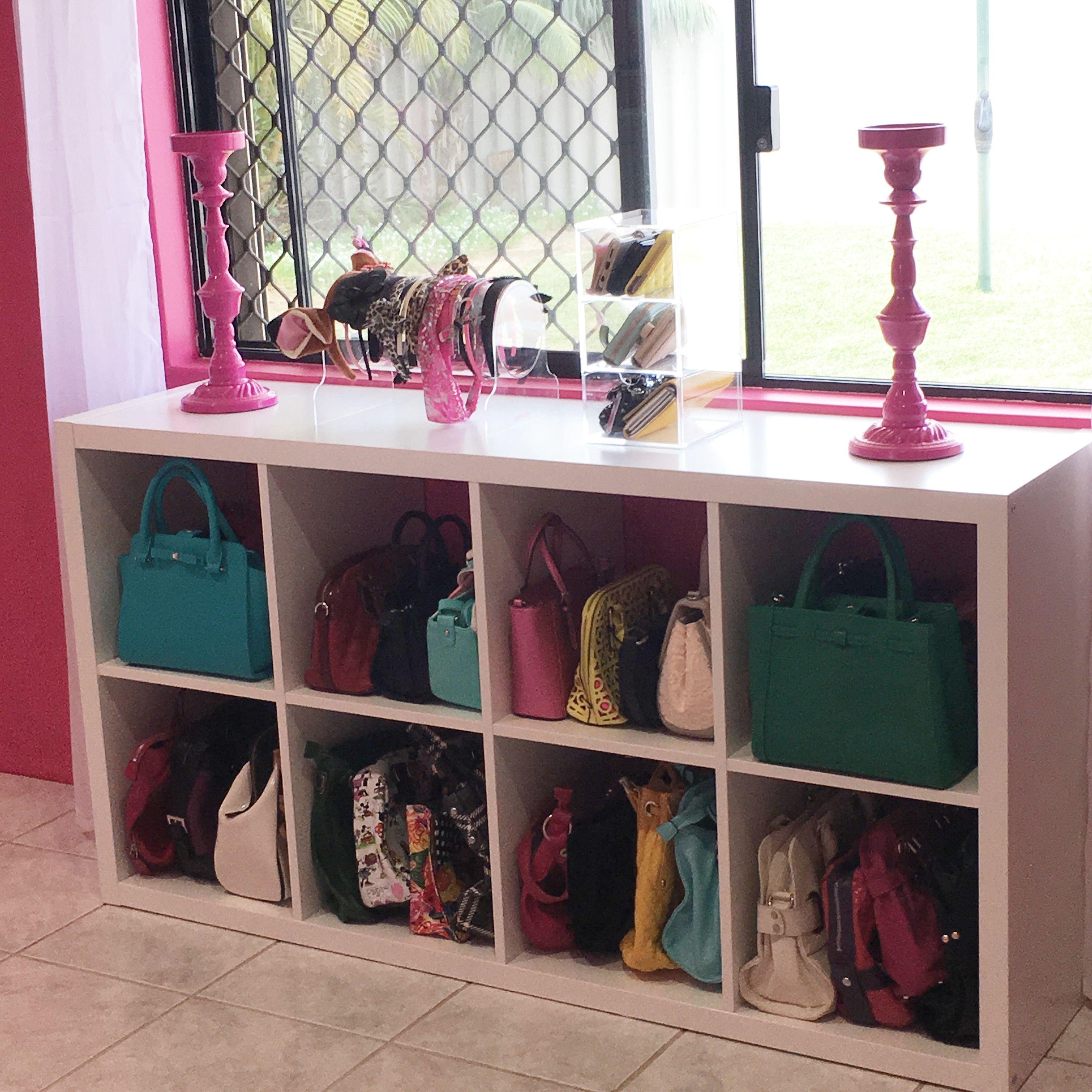 Ikea Hack Handbag Storage Diy Bedroom Storage Bedroom Storage