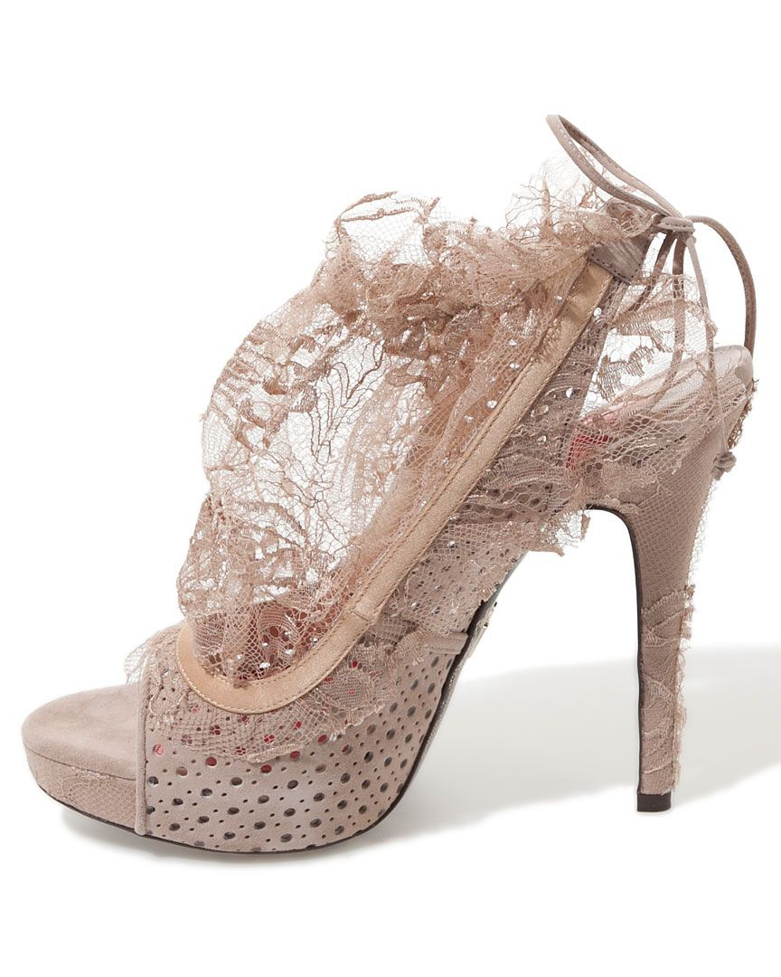 Salivating Over Shoes. Imagine With Marchesa