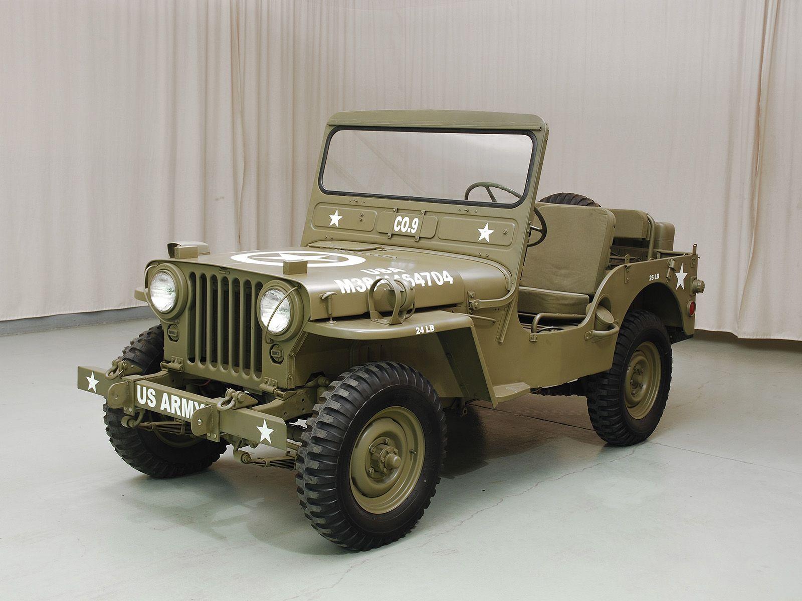 1950 Willys M38 Jeep - Hyman Ltd. Classic Cars   Jeep M38 ...