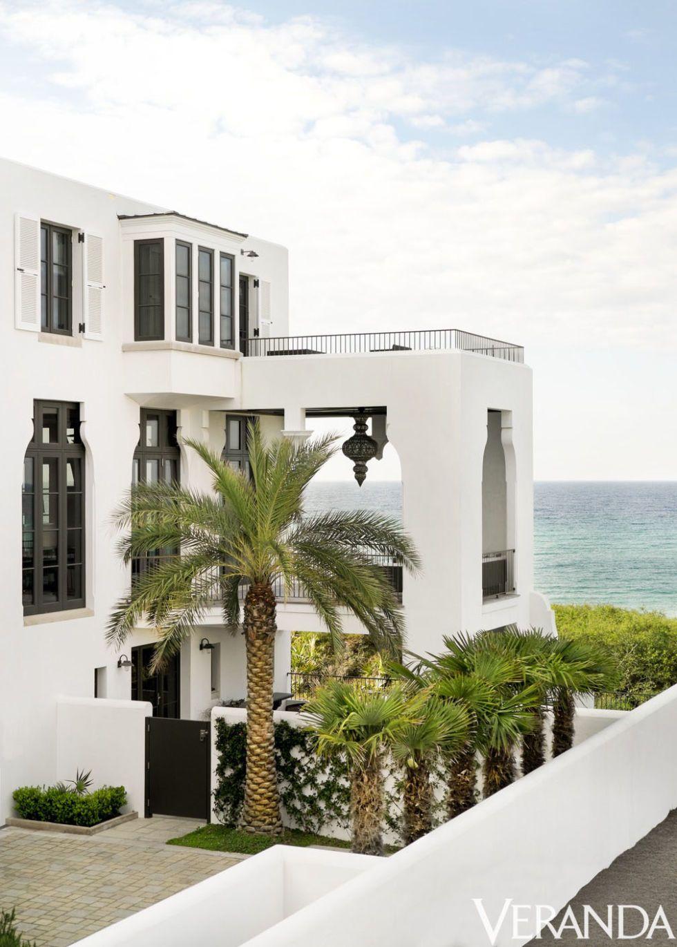 HOUSE TOUR: A Florida Beach House Gets Glammed Up