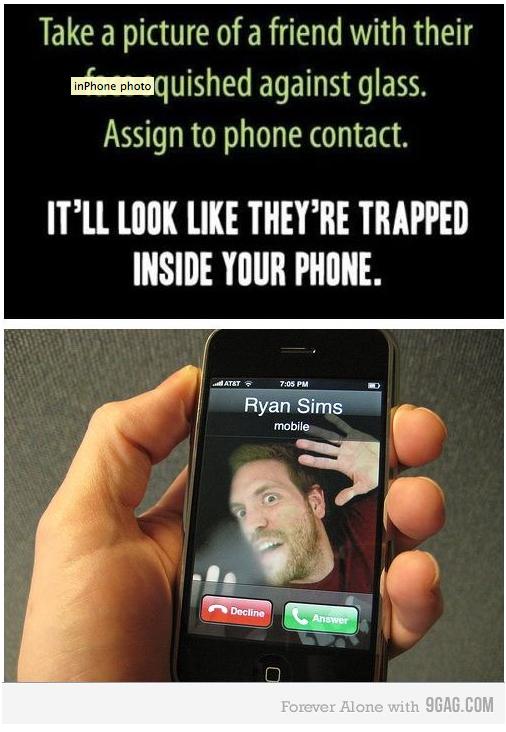 Funny Phone Trick #geekdom #phonetrick #iPhone
