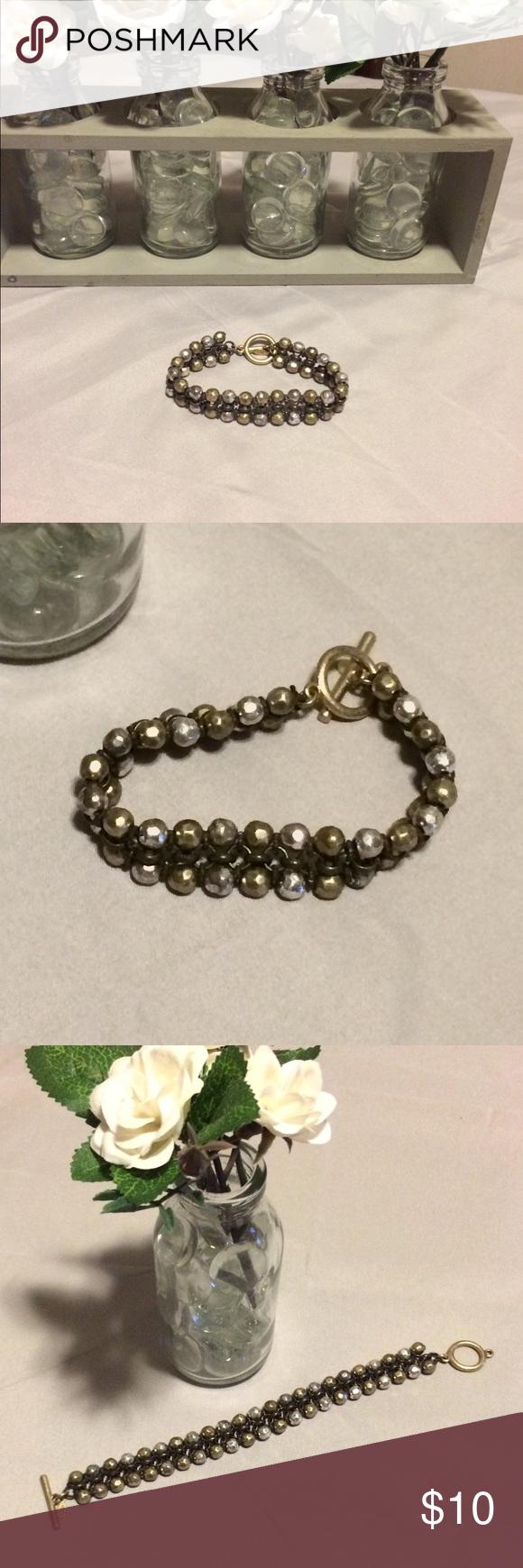 Premier Designs Bracelet Excellent condition! Matte gold ...