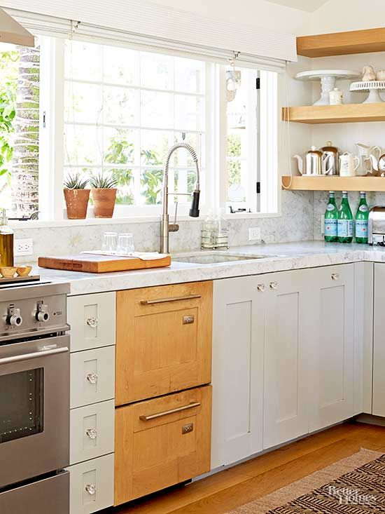 Mixing Kitchen Cabinet Materials 1302 A New Kitchen Kitchen