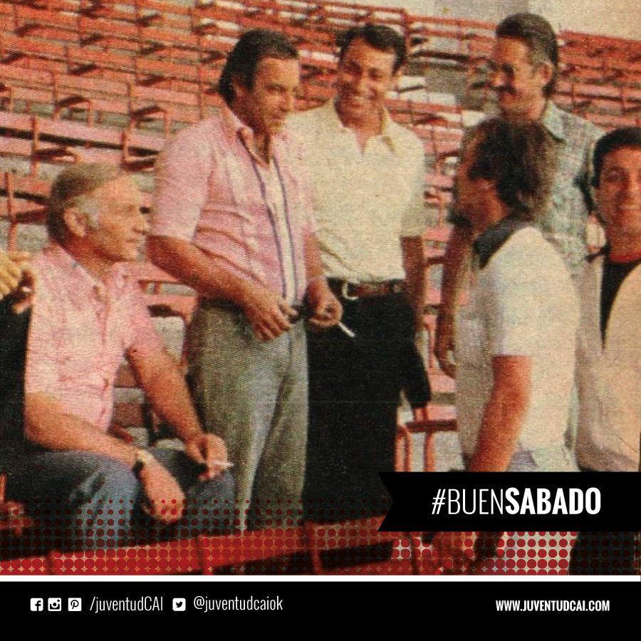 #BuenDiaRojo! #BuenSabado!  Paflik, Mario Rodriguez, Pastoriza,Acevedo, Daguerre y Santoro. Año 1979 #Independiente