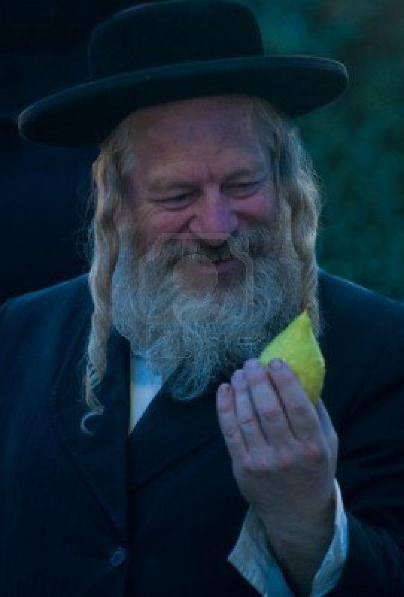 ~J Ultra orthodox gentleman . Jerusalem