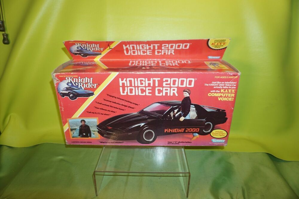 Vintage Kenner/Universal Knight 2000 Talking KITT Voice