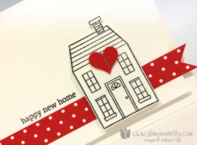 Stampin Pretty - Holiday Home *** This is another simple one that I would like.
