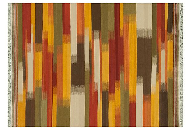 Drexel Flat-Weave Rug,