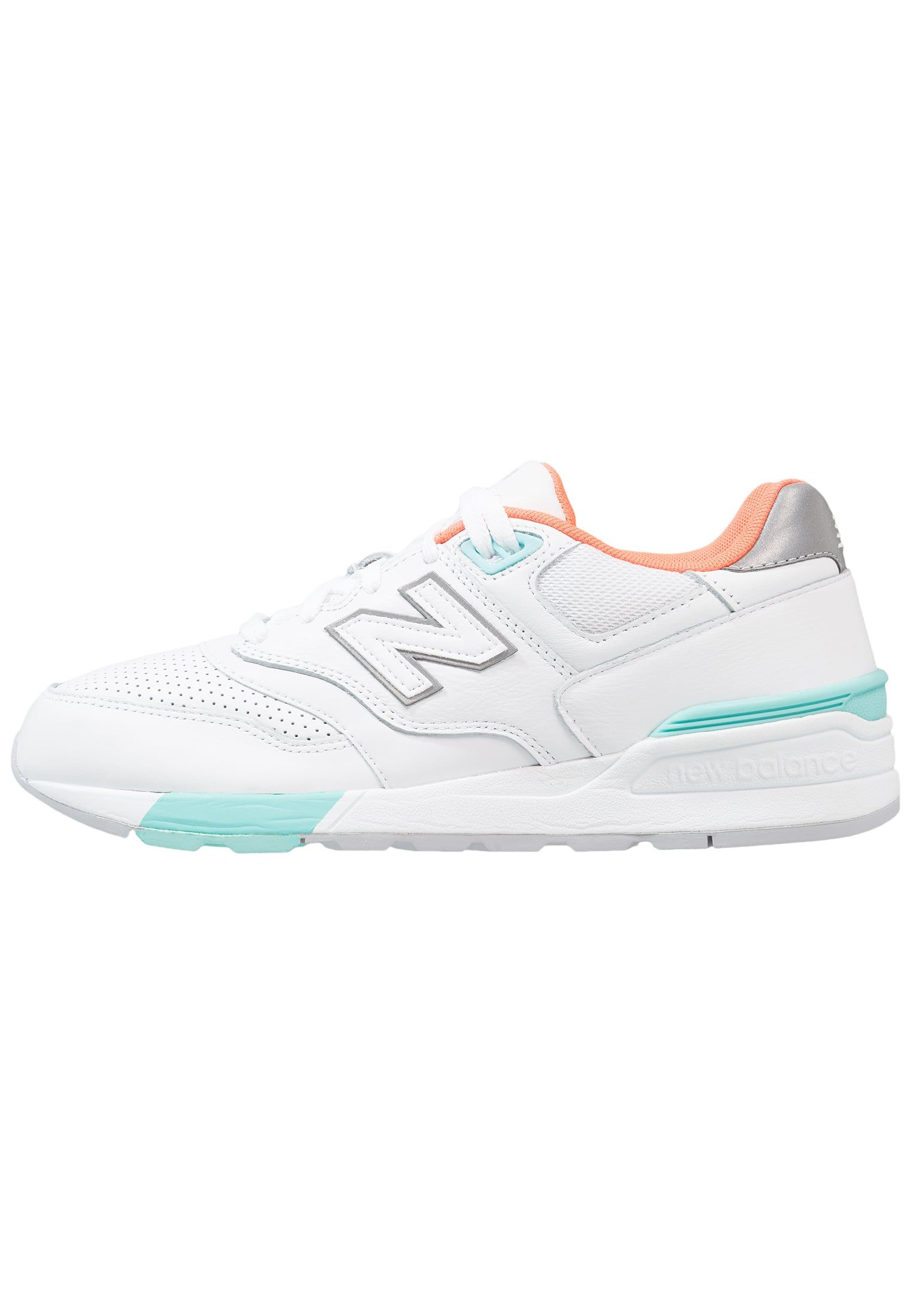 half off 32876 098dd New Balance ML597 - Baskets basses - white - ZALANDO.FR