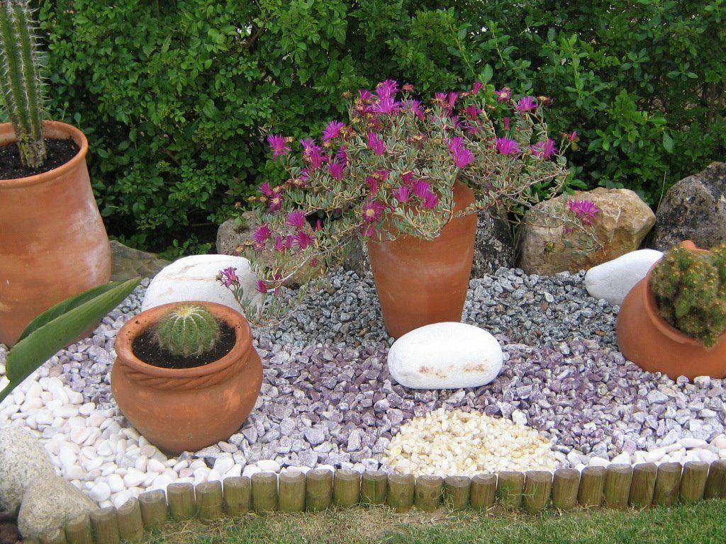 jardins com pedras e plantas AS FOTOS DO MEU JARDIM Pedras jardinagem Jardim com pedras  -> Decoração De Jardins Com Pedras E Flores