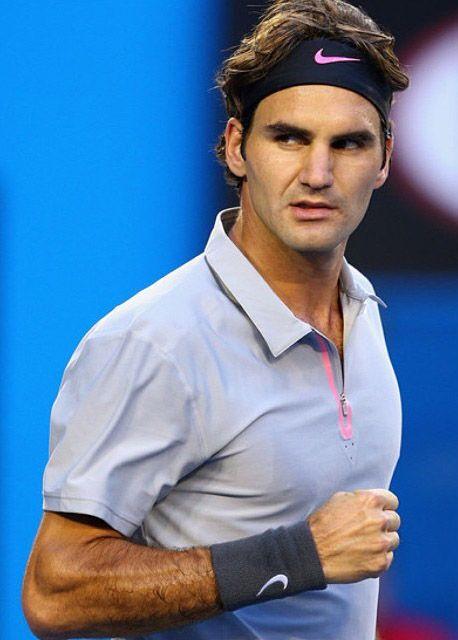 Roger Federer Has A Hairy Arm Roger Federer Roger Federer Family Tennis Players